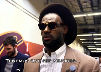 Para disfrutar: LeBron James, desde dentro en los Playoffs