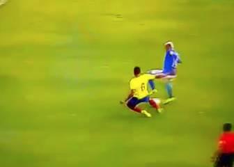 ¡Lo que hizo Neymar! Ruleta de genio para sentar a Noboa