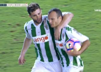 Córdoba y Lugo empatan en la fiesta de los goles del viernes