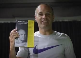 Andrés Iniesta presenta su libro: 'La jugada de mi vida'