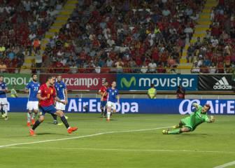 Fabulosa y preciosa: la jugada de España en el gol de Vitolo
