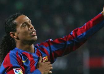 Lo mejor de Ronaldinho en el Barça en 3': no era humano