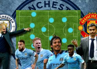 Guardiola's XI to beat Mourinho in the Manchester derby