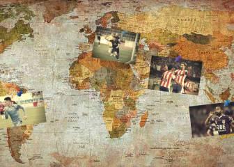 De futbolistas rasos en España a superestrellas por el mundo