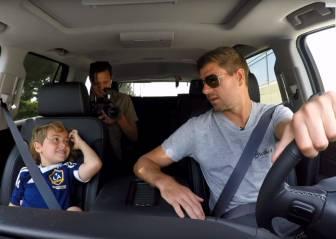 Steven Gerrard, a un niño: