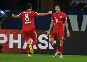 Lewandowski desatasca al Bayern frente al Schalke