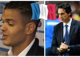 'Cachondeo' de Ben Arfa con el francés de Emery en el PSG