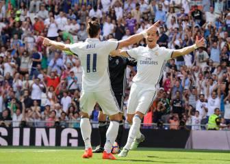 El Madrid golea a Osasuna en el regreso de Cristiano