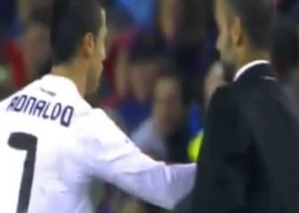 El empujón de Rooney a Guardiola que ya hizo Ronaldo