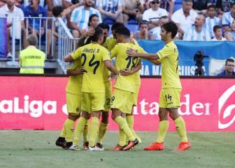 El Villarreal toma La Rosaleda y logra su primera victoria