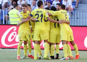 Todos los goles del Málaga - Villarreal de la Jornada 3