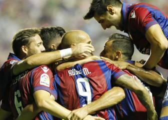 Todos los goles del Levante-Zaragoza de la jornada 4