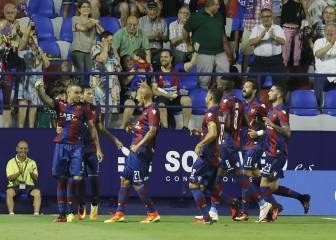 Golpe sobre la mesa del Levante ante el Zaragoza