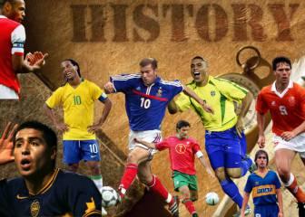 El primer gol de las leyendas: Zizou, Romario, Ronnie, Dinho...