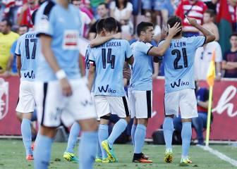 Todos los goles del Granada-Eibar de la jornada 3