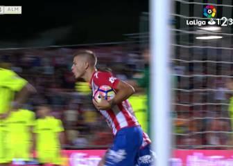 El Girona y el Almería se desatan en la fiesta del gol