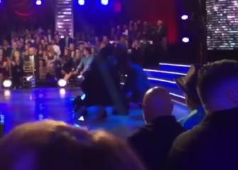 Atacan a Ryan Lochte en un programa de TV en directo