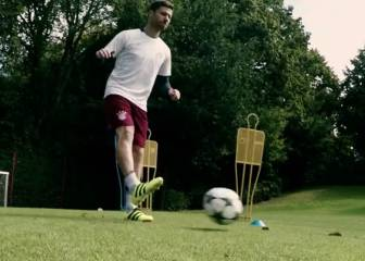 ¿Podrán Xabi Alonso y Renato controlar un balón a 100 km/h?