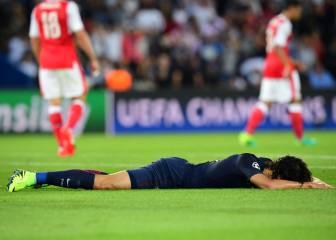 París todavía enfurece con las ocasiones falladas por Cavani