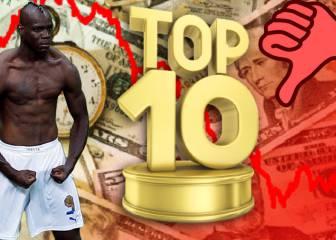 Oro parece... Los 10 delanteros más sobrevalorados del fútbol