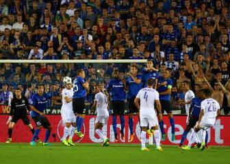 La Champions ya conoce a Mahrez: vaya gol de falta