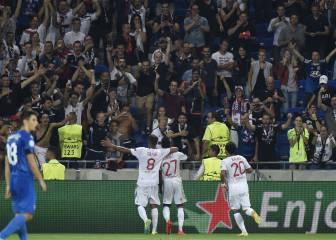 El Lyon no acusa las bajas y pasa por encima del Dinamo