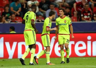 El CSKA rescata un punto ante el Leverkusen en dos minutos