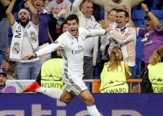 Morata y Cristiano sacan el orgullo histórico del Madrid