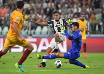 Sergio Rico permite al Sevilla salir vivo del Juventus Stadium