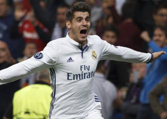 Así hunde Morata a sus rivales en la Champions League