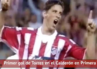 El primer gol de Torres en el Calderón en 1º cumple 14 años