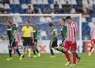 El Athletic se tropieza en su debut en Europa League