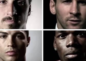 Cristiano, Messi, Pogba... juntos por la igualdad en el fútbol