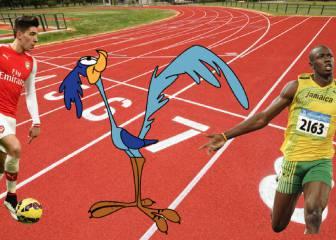 Correcaminos Bellerín: su sprint podría superar a Bolt