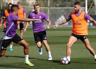 El Real Madrid vuelve al trabajo y Bale podría ser baja