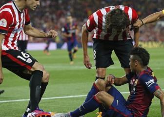 ¡Cómo calienta Neymar al personal! 9 rajadas contra él