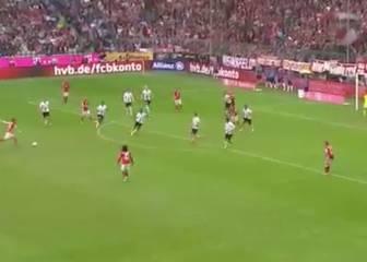 Xabi Alonso la arma en la Bundesliga: menudo disparo
