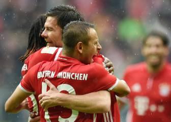 El Bayern supera el susto que le dio el Ingolstadt