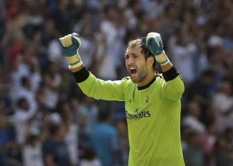 Los 5 mejores paradones de Diego López en el Real Madrid