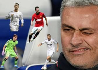 Los conflictos más ácidos de Mourinho con sus futbolistas