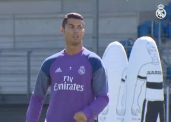 Cristiano y Bale se entrenan y apuntan al Villarreal