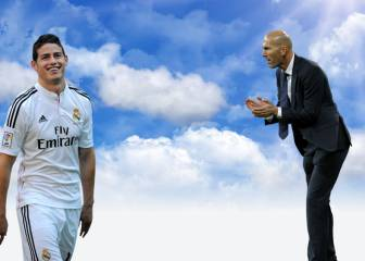 Todos los elogios de Zidane a James: love is in the air