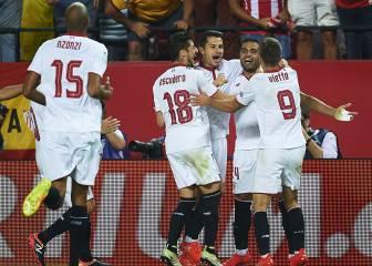 Resumen y goles de Sevilla-Betis de la Liga Santander