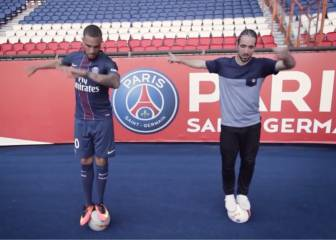 El mejor freestyler de Francia desafía a las estrellas del PSG