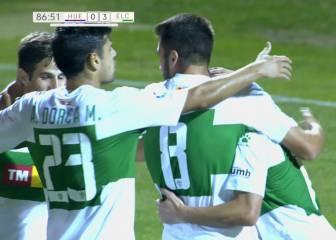 El Elche se reencuentra con el gol para ganar al Huesca