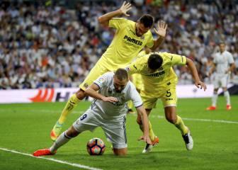 El Real Madrid reclamó dos penaltis ante el Villarreal