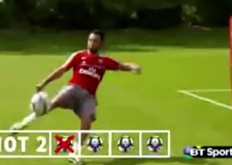 Cazorla recrea el golazo de Henry al Man United en el 2000