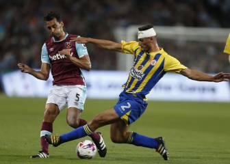 Arbeloa debutó con el West Ham: así fue su primer partido