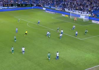 La samba funciona en Leganés: pared de 'jogo bonito' en el 1-1