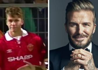 24 years on from David Beckham's Man Utd debut